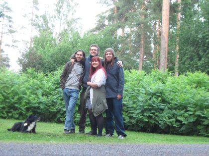 Jenni et Ahti, amis finlandais