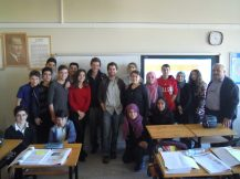 Classe de français à Kesap