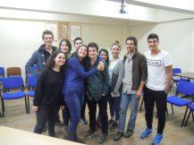 Classe d'anglais à Kesap