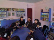 A l'école avec les plus jeunes