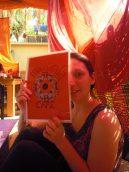 Jess au Mandala café