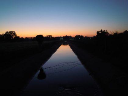 Coucher sur canal